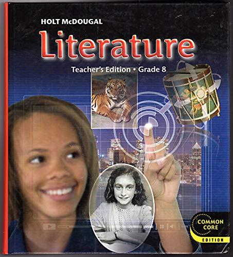 9780547618456: Holt McDougal Literature: Teacher's Edition Grade 8 2012