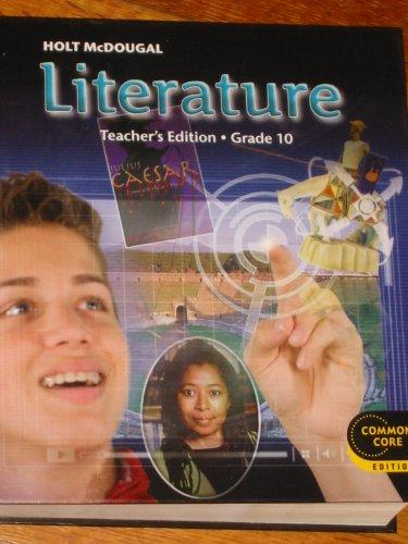 9780547618470: Holt McDougal Literature: Teacher's Edition Grade 10 2012