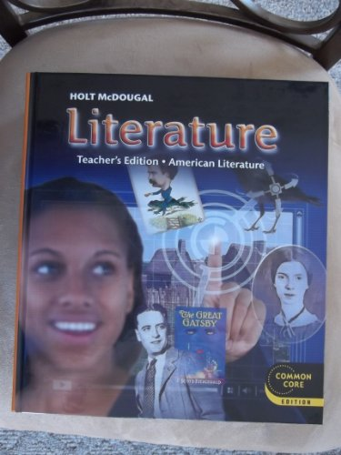 9780547618487: Holt McDougal Literature: Teacher's Edition Grade 11 American Literature 2012