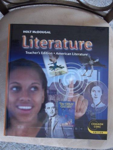 9780547618487: Holt McDougal Literature: Teacher's Edition Grade 11 American Literature 2012
