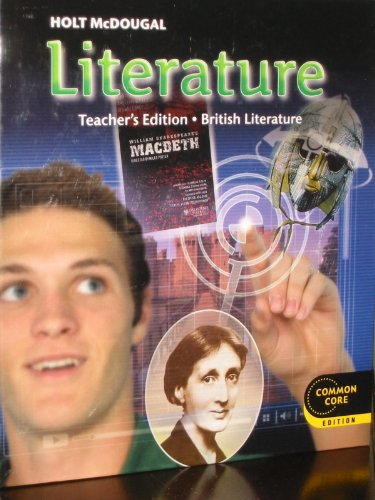 9780547618494: Holt McDougal Literature: Teacher's Edition Grade 12 British Literature 2012