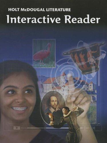 9780547619330: Holt McDougal Literature: Interactive Reader Grade 9
