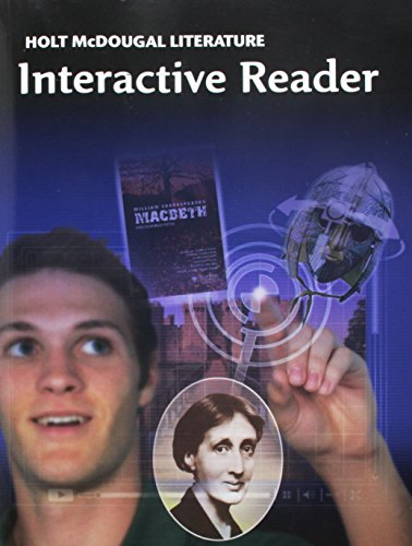 Holt McDougal Literature: Interactive Reader