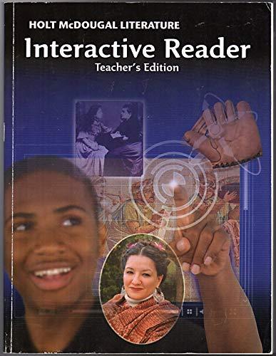 Holt McDougal Literature: Interactive Reader Teacher's Edition Grade 6: MCDOUGAL, HOLT