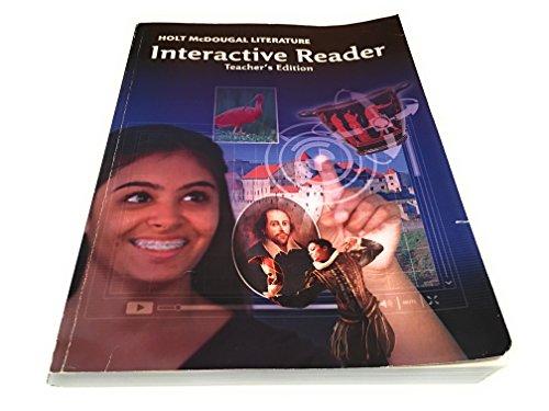 9780547619408: Holt McDougal Literature: Interactive Reader Teacher's Edition Grade 9