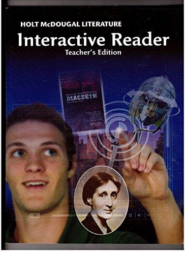 Holt mcdougal literature teachers edition by holt mcdougal abebooks fandeluxe Images