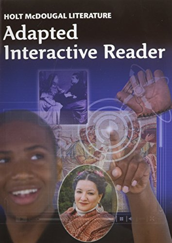 9780547619446: Holt McDougal Literature: Adapted Interactive Reader Grade 6