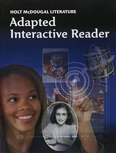 9780547619460 holt mcdougal literature adapted interactive reader 9780547619460 holt mcdougal literature adapted interactive reader grade 8 fandeluxe Choice Image