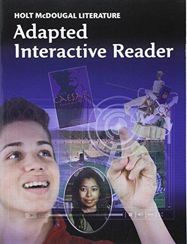 9780547619484: Holt McDougal Literature: Adapted Interactive Reader Grade 10