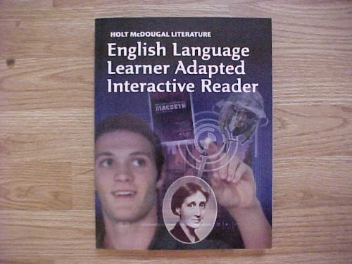 9780547619644: Holt McDougal Literature: ELL Adapted Interactive Reader Grade 12 British Literature