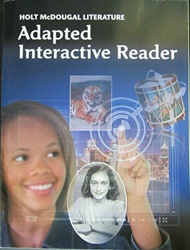 9780547619675: Holt McDougal Literature: ELL Adapted Interactive Reader Teacher's Guide Grade 8
