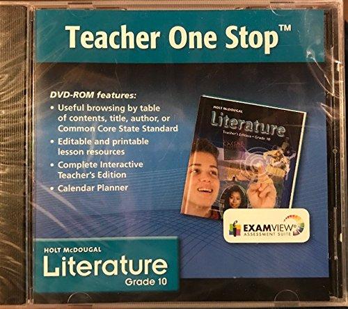 Holt McDougal Literature Grade 10 Teacher