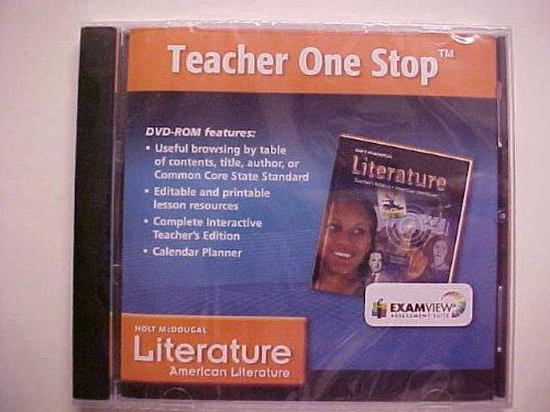 9780547620022: Holt McDougal American Literature Teacher One Stop DVD-ROM