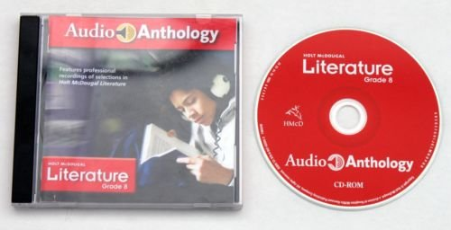 Holt McDougal Literature, Grade 8: Audio Anthology On CD, Common Core (2014 Copyright): Staff