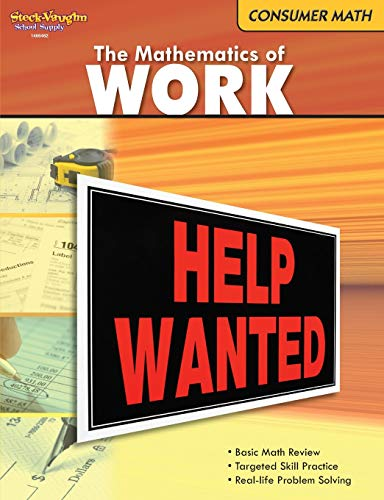 9780547625607: The Mathematics of Work (Consumer Math Series)