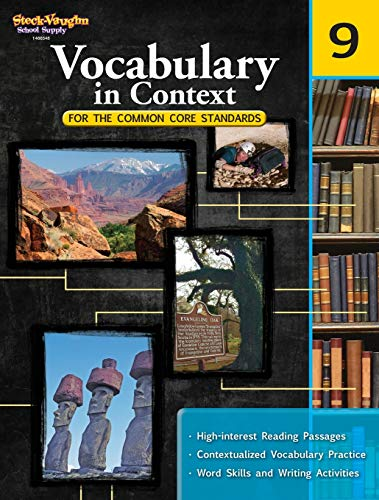 9780547625829: Vocabulary in Context for the Common Core Standards: Reproducible Grade 9