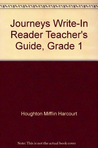 9780547626451: Journeys Write-In Reader Teacher's Guide, Grade 1