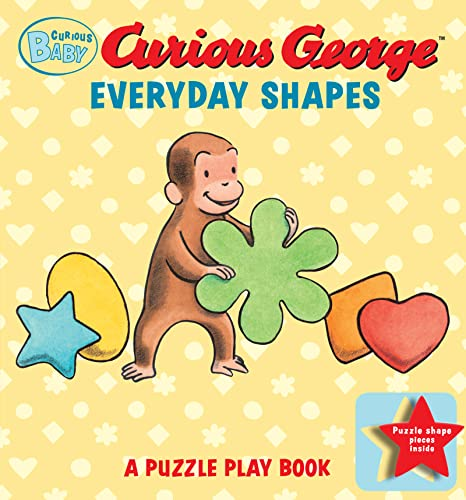 9780547632322: Curious Baby Everyday Shapes Puzzle Book: A Puzzle Play Book (Curious Baby Curious George)