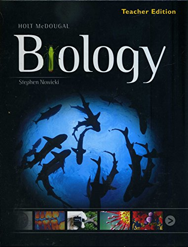 9780547636337: Holt McDougal Biology: Teacher Edition 2012