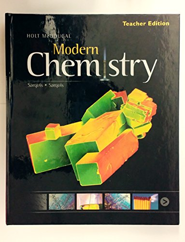 9780547636344: Modern Chemistry: Teacher Edition 2012