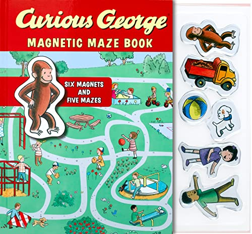 9780547643021: Curious George Magnetic Maze Book