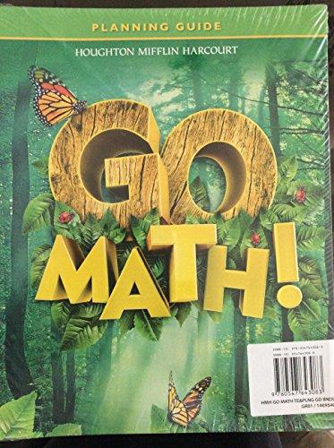 9780547643083: Houghton Mifflin Harcourt: Go Math! Teacher Edition & Planning Guide Bundle, Grade 1 054764308X, 9780547643083