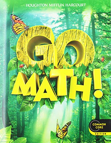 9780547643168: Go Math!: Student Edition & Practice Book Bundle 1-Year Grade 1 2012