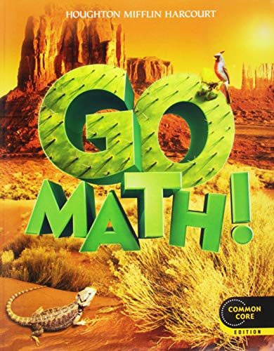 9780547643229: Go Math!: Student Edition & Practice Book Bundle, 1 Year Grade 5 2012