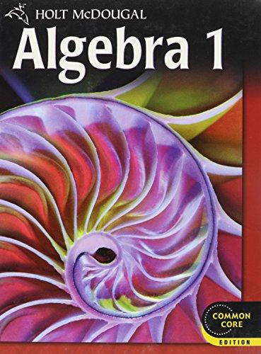 9780547647036: Holt McDougal Algebra 1: Student Edition 2012