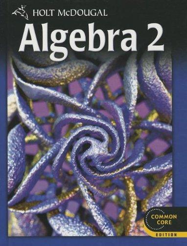 9780547647074: Algebra 2: Common Core Edition