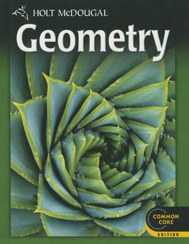 9780547647098: Holt McDougal Geometry: Student Edition 2012
