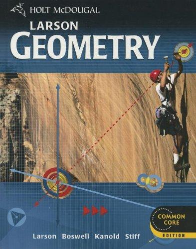 9780547647142: Holt McDougal Larson Geometry: Student Edition 2012