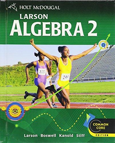 9780547647159: HOLT MCDOUGAL LARSON ALGEBRA 2