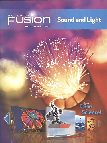 9780547647777: ScienceFusion with 1 Year Digital: Student Edition Bundle Module J: Sound and Light 2012