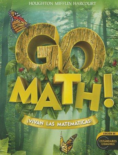 9780547650708: Go Math! Vivan las Matematicas! (Houghton Mifflin Harcourt Spanish Go Math)