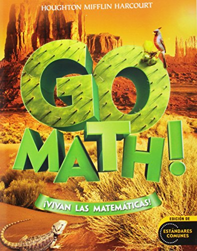 9780547650746: SPA-GO MATH VIVAN LAS MATEMATI (Houghton Mifflin Harcourt Spanish Go Math)
