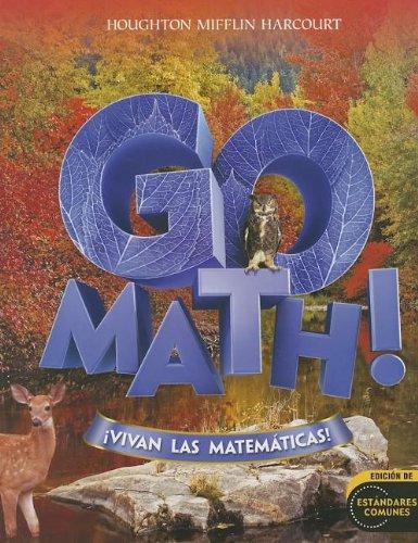 9780547650753: Go Math! Vivan las Matematicas! (Houghton Mifflin Harcourt Spanish Go Math)