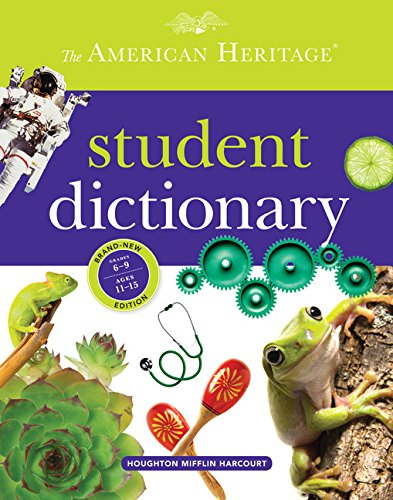 9780547659589: The American Heritage Student Dictionary