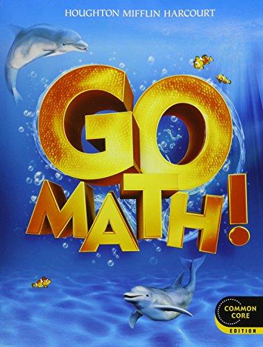 9780547669175: Go Math!: Student Edition & Practice Book Bundle Grade K 2012