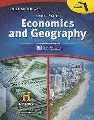 9780547682211: Holt McDougal Civics in Practice Florida: Student Edition United States Economics and Geography for Florida 2013