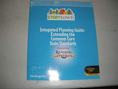 9780547686578: Houghton Mifflin Harcourt Storytown Reading Adventure: Weekly Planning Guide Grade K