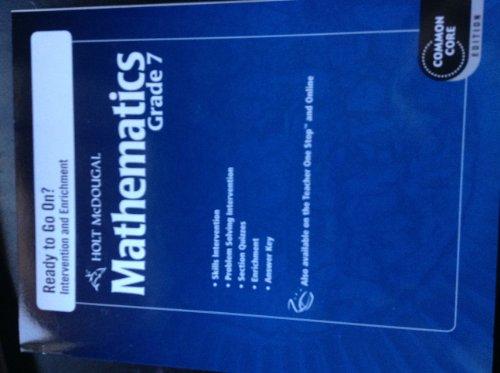 9780547686998: Holt McDougal Mathematics: Common Core Ready