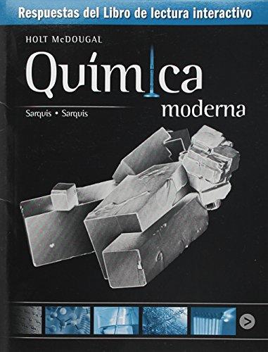 9780547687834: Modern Chemistry: Interactive Reader Answer Key, Spanish