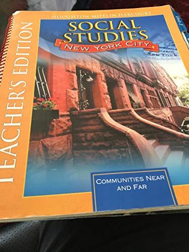 9780547689203: Houghton Mifflin Harcourt Social Studies New York: Teacher Edition Grade 2 2012