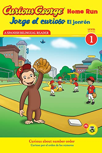 9780547691145: Jorge el curioso El jonrón / Curious George Home Run (CGTV Reader) (Spanish and English Edition)