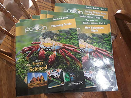 9780547696942: Science Fusion Teacher Edition Planning Guide