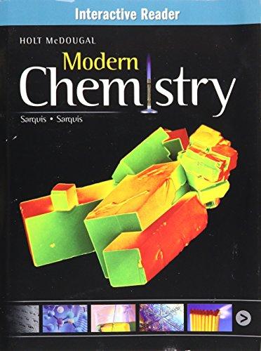 9780547704821: Modern Chemistry: Interactive Reader