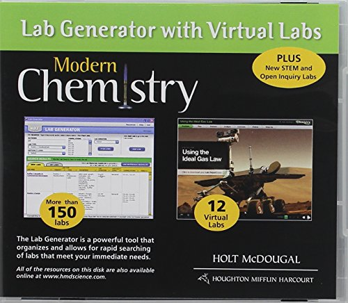 9780547704845: Modern Chemistry: Lab Generator with Virtual Labs CD