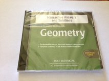 Interactive Answers and Solutions Geometry: McDougal, Holt