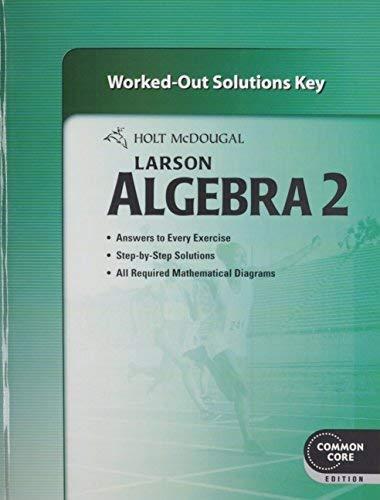 9780547710389: Holt McDougal Algebra 2: Common Core